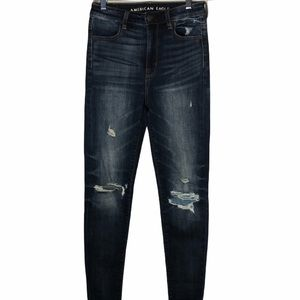 American Eagle Distressed Highest Rise Jeans. Sz 0